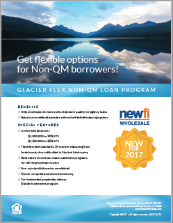 Non-QM Loan Flyer