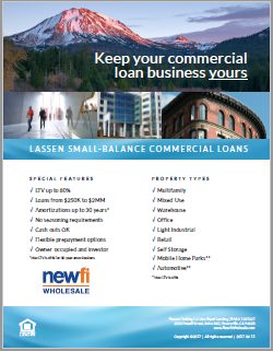 Small Balance Commercial Loan Flyer