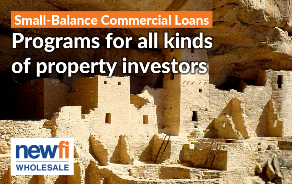 Small Balance Commercial Mortgage Programs
