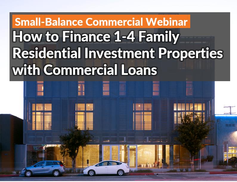 Small Balance Commercial Webinar